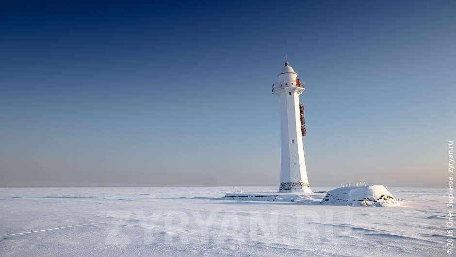 Кронштадтский створный маяк морского канала